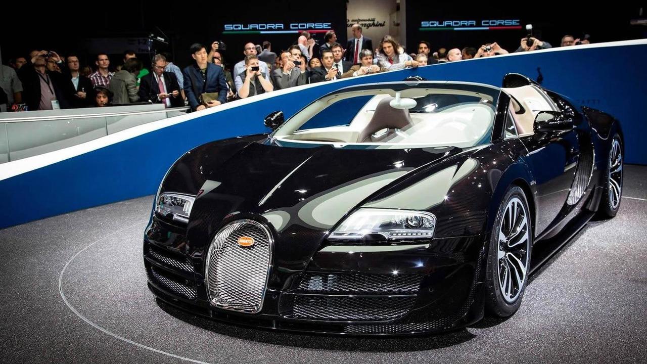 Bugatti Veyron Grand Sport Vitesse Jean Bugatti special edition live at 2013 Frankfurt Motor Show 10.09.2013