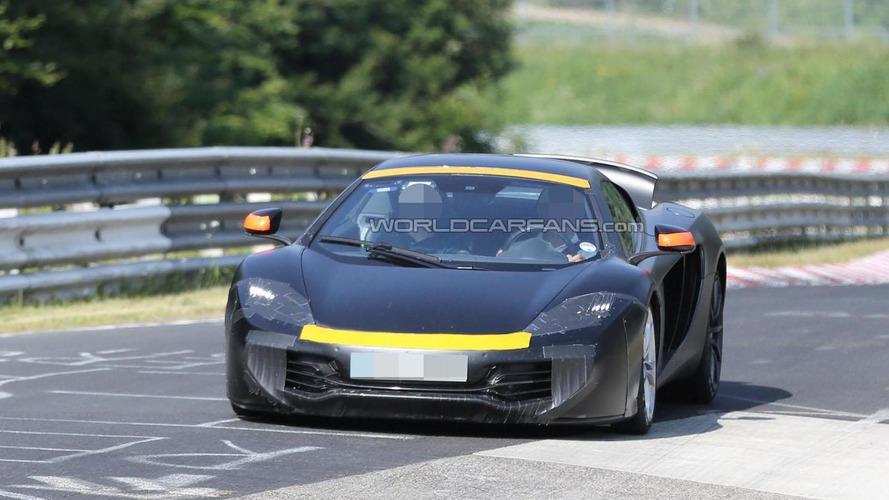McLaren P13 prototype hits the Nurburgring