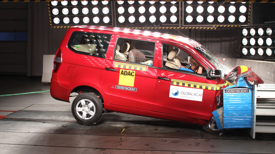 Chevy Enjoy gets zero stars in Global NCAP crash test