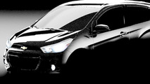 2016 Chevrolet Spark teased ahead of April 2 reveal