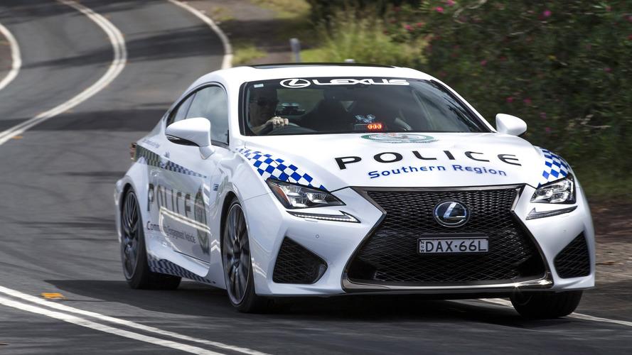 Lexus RC F joins Australia's NSW Police Force