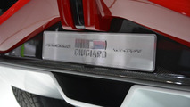 Italdesign Giugiaro Parcour coupe live in Geneva 05.03.2013