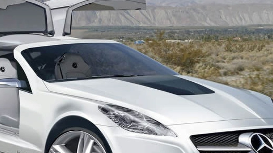 Mercedes SLK Gullwing in the works?