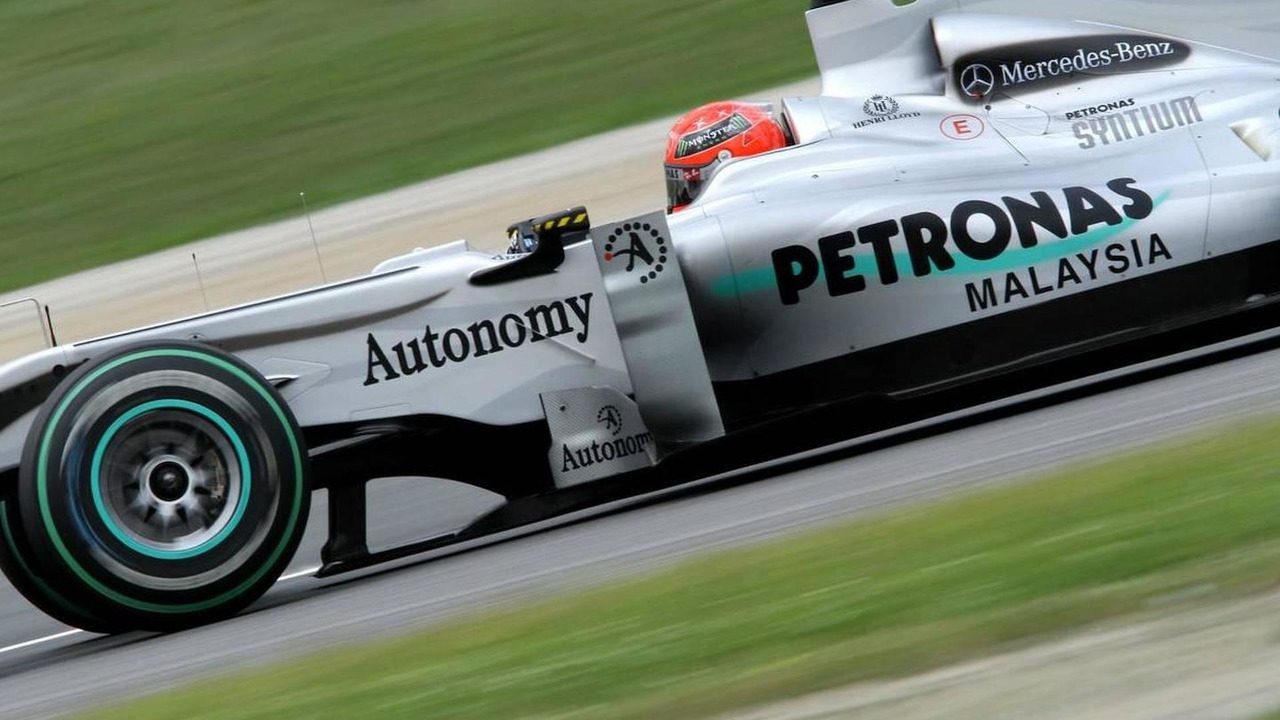 Michael Schumacher (GER), Mercedes GP - Formula 1 World Championship, Rd 5, Spanish Grand Prix, Friday Practice