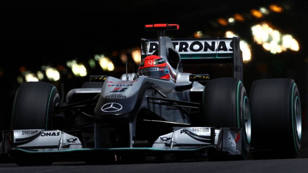 Michael Schumacher (GER), Mercedes GP Petronas, Monaco Grand Prix, 15.05.2010 Monaco, Monte Carlo
