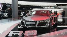Audi R8 5.2 FSI quattro Dressed in Chrome Displayed in Frankfurt