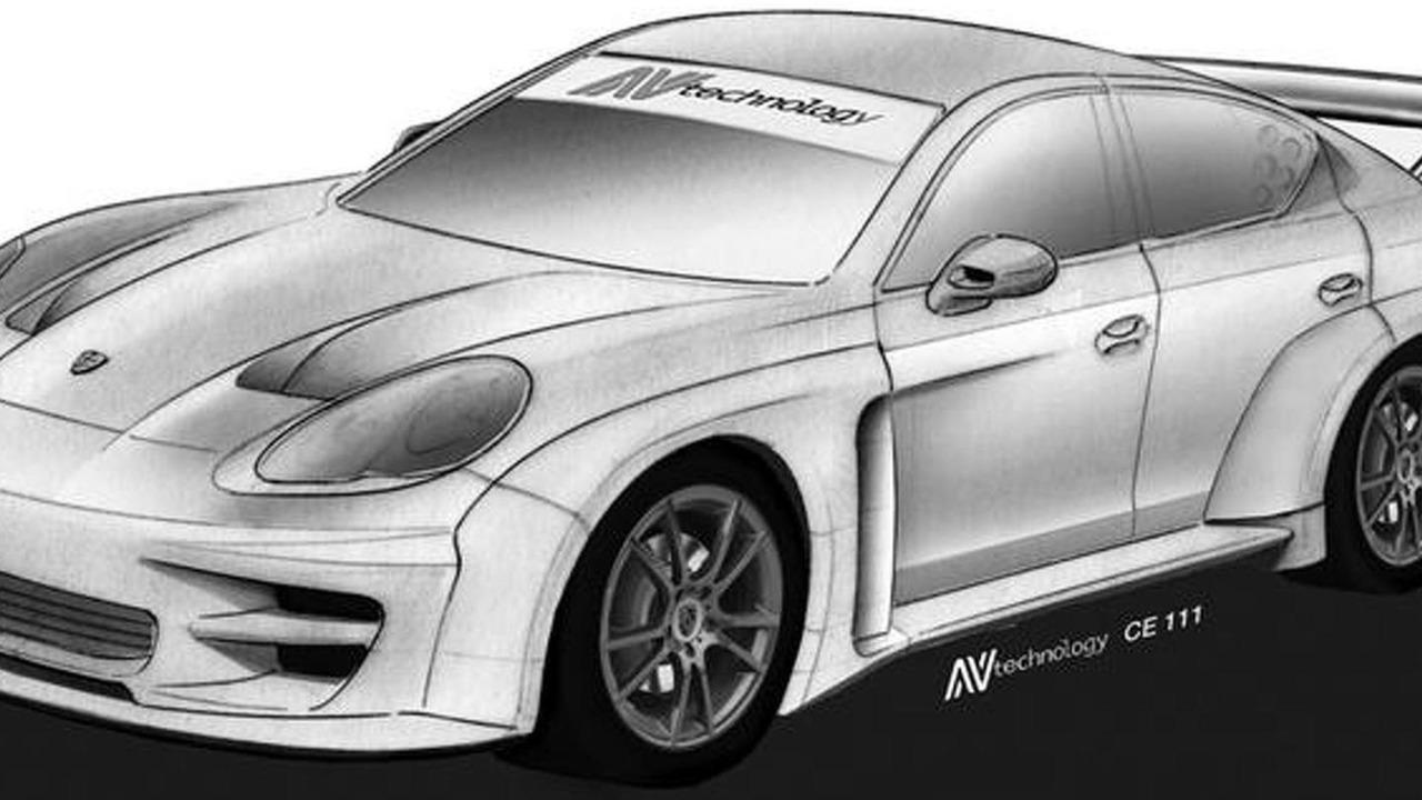 Porsche Panamera racecar by ntechnology