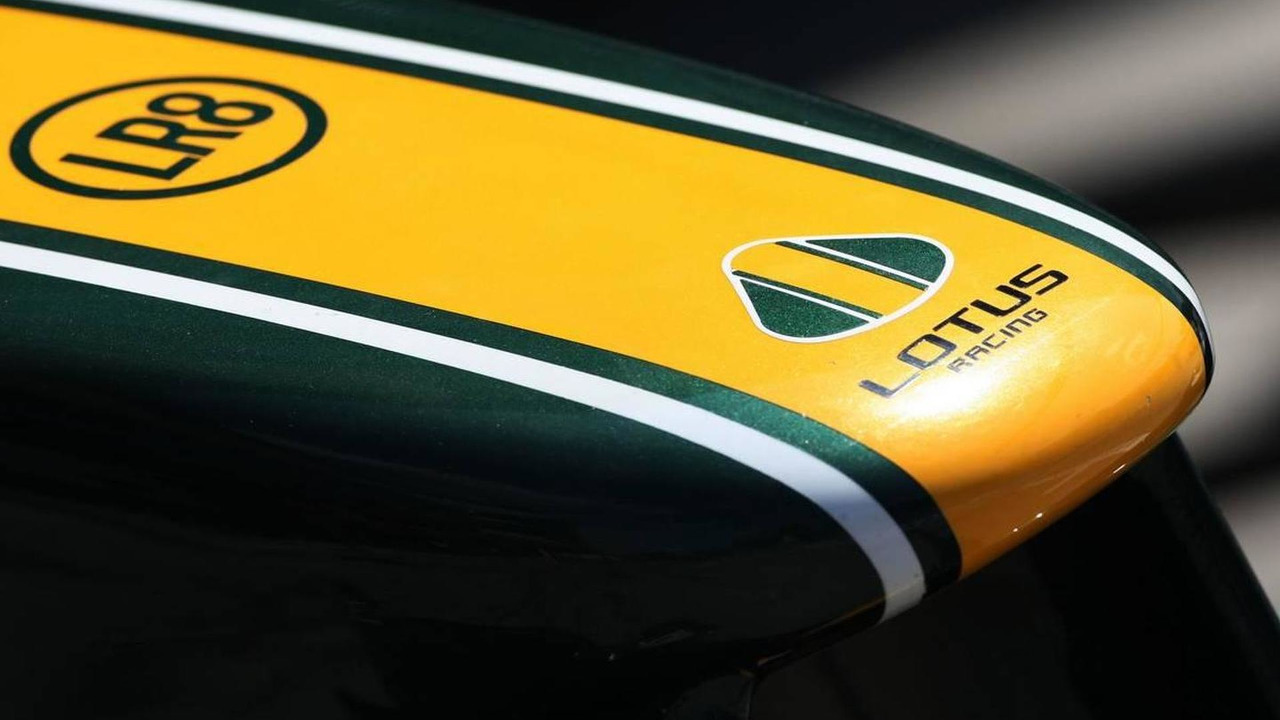 Lotus F1 Team front wing - Formula 1 World Championship, Rd 14, Italian Grand Prix, Thursday, 09.09.2010 Monza, Italy