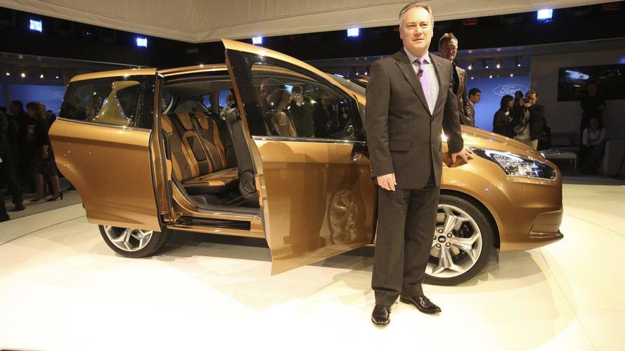 Ford B-MAX revealed for Geneva debut