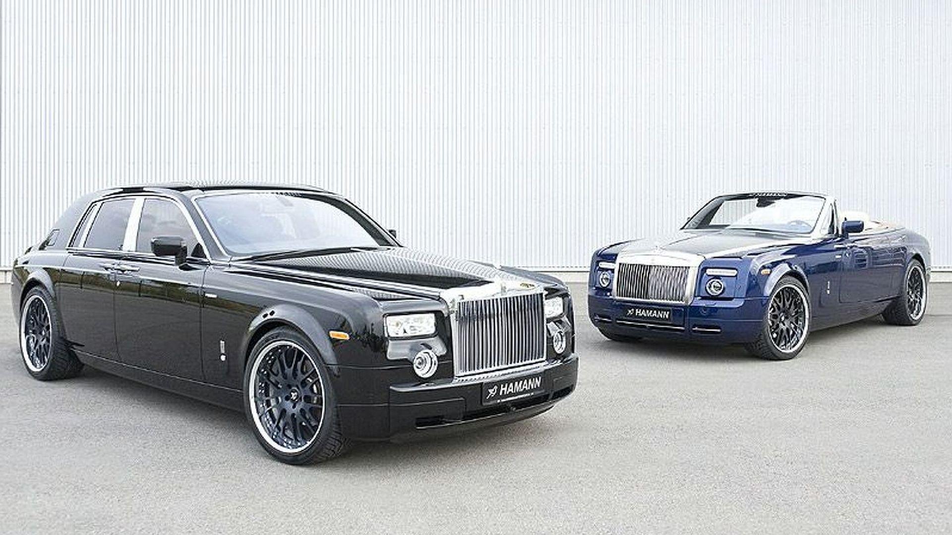 Hamann Rolls Royce Phantom Images Surface