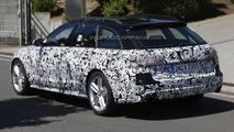 Audi A6 allroad quattro facelift spy photo