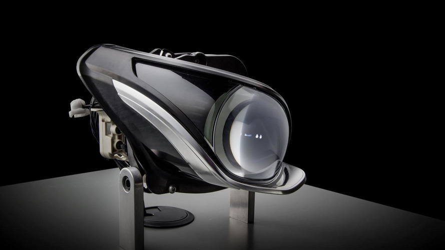 Mercedes previews their next-generation LED headlights