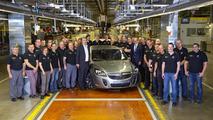 Opel's Russelsheim factory assembles first Holden, an Insignia VXR