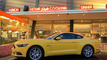 2015 Euro-spec Ford Mustang