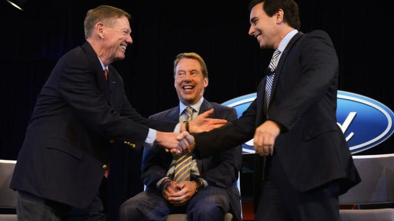 Mark Fields stepping as a Ford CEO