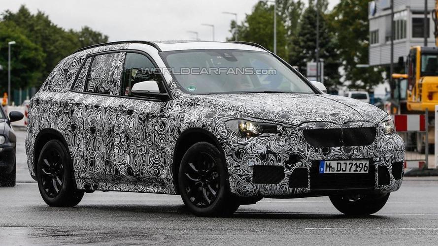 2015 BMW X1 spied testing