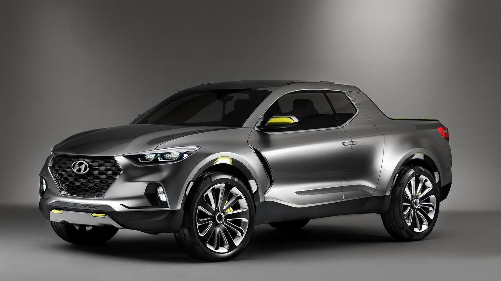 Hyundai Santa Cruz pickup production confirmed