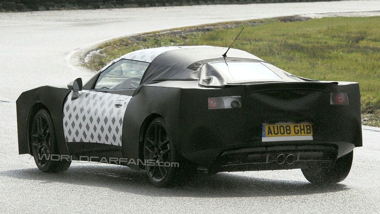 New Lotus Eagle spy photos