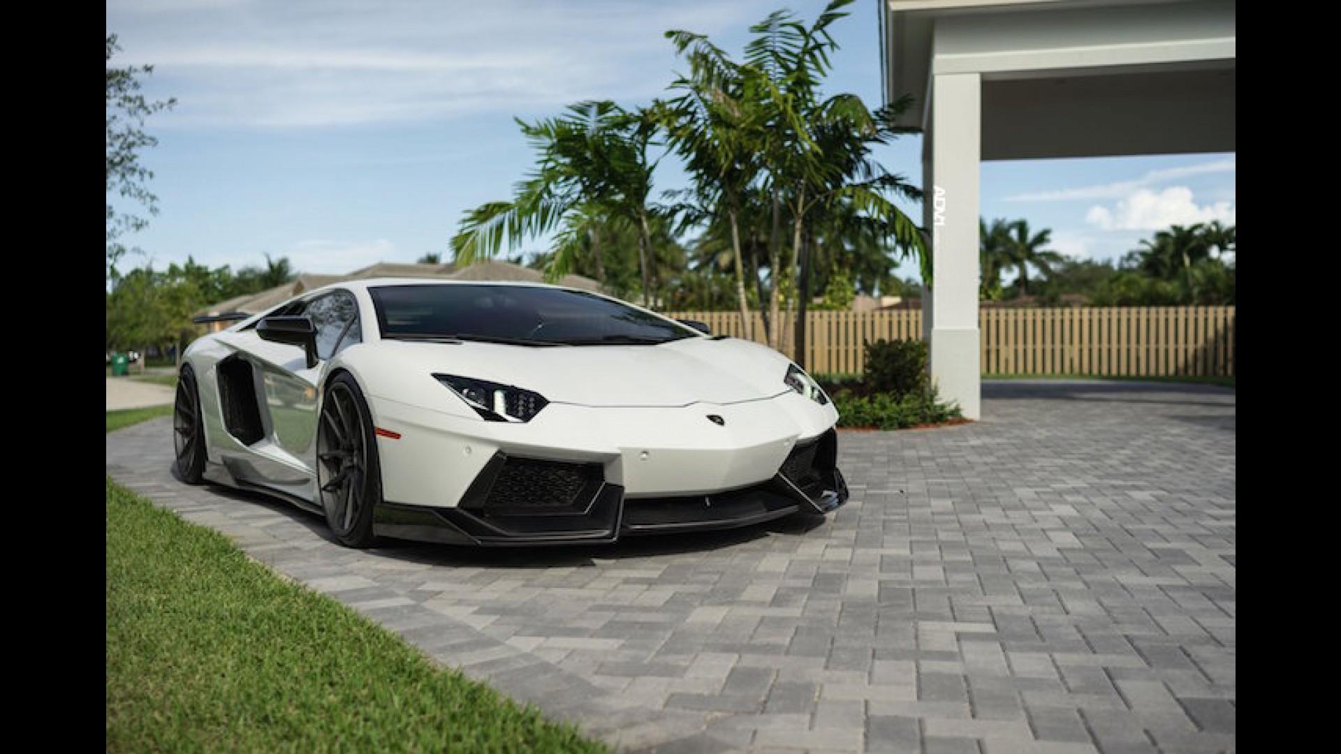 780-HP Lamborghini Aventador Looks Mean On ADV.1 Wheels