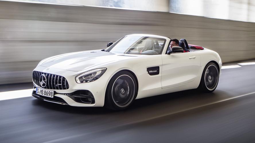 Les tarifs du Mercedes AMG-GT Roadster dévoilés