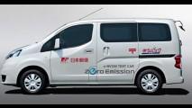 Onda verde: Nissan começa a testar furgão elétrico