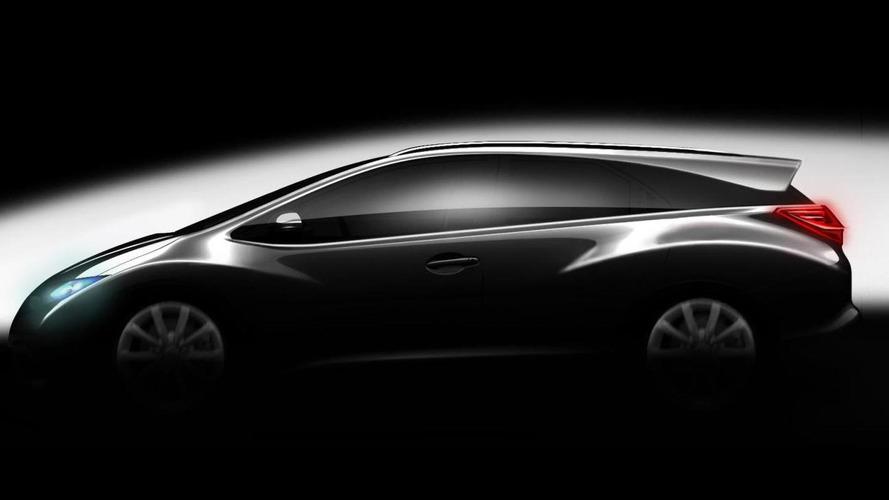 Honda Civic Wagon announced & teased