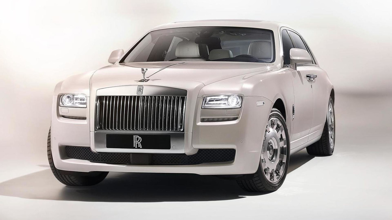Rolls Royce Ghost SIx Senses concept