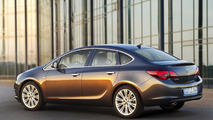 2013 Opel Astra sedan revealed