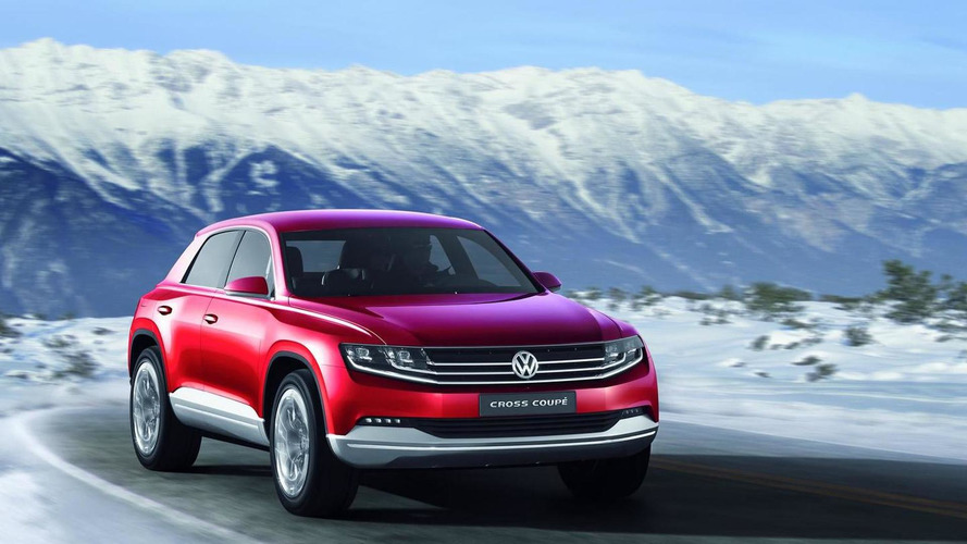 Volkswagen Cross Coupe TDI Plug-In Hybrid Concept previewed