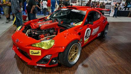 Toyota GT4586 is Ferrari-powered madness