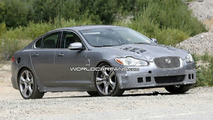 Same Jaguar XF-R Spied Again in Death Valley