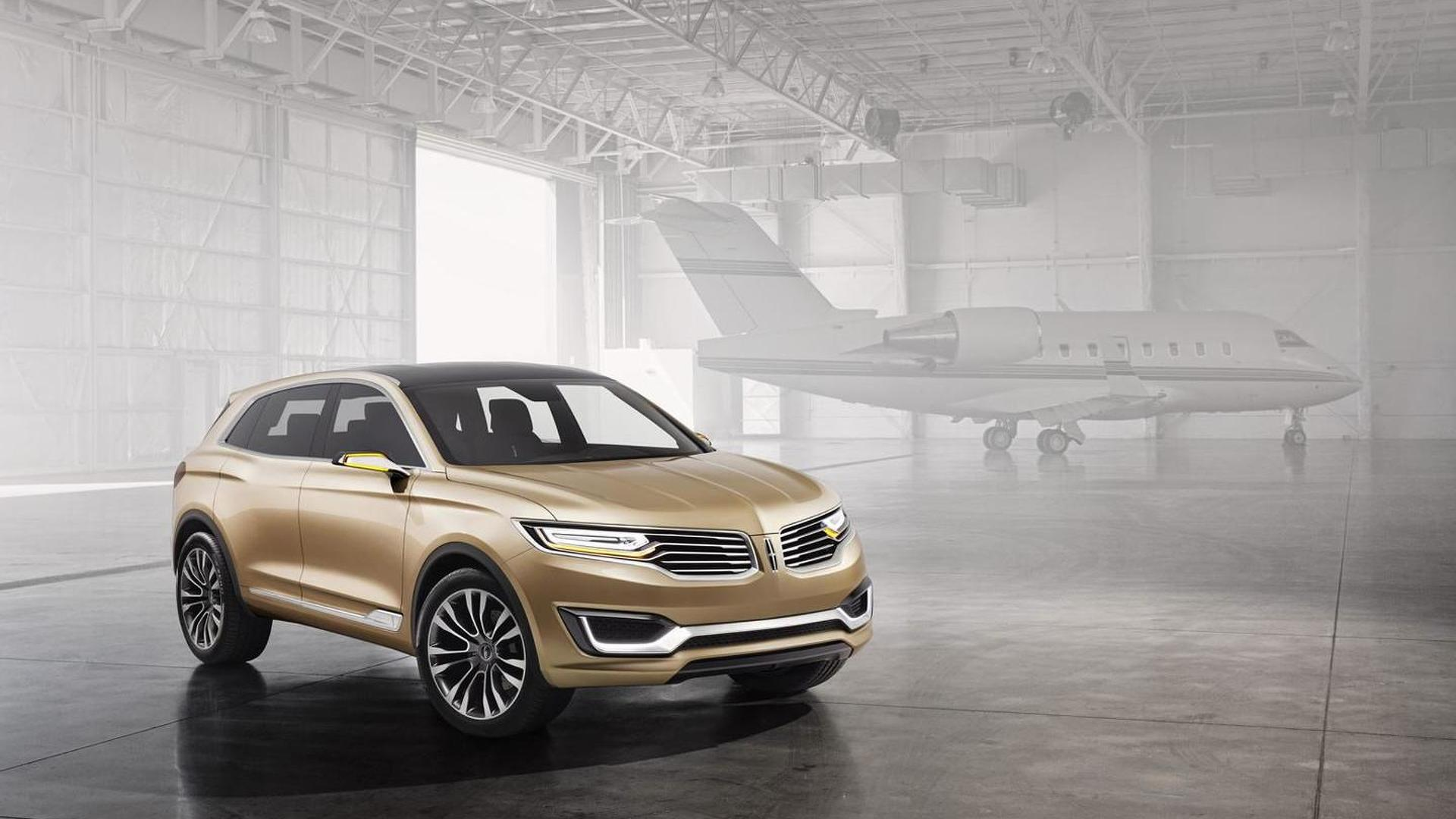 Lincoln MKX Concept unveiled in Beijing, preview new global production SUV [video]