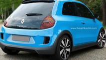 2014 Renault Twingo rendered