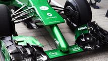 Marcus Ericsson Caterham CT04 . Formula One Testing Jerez Spain