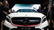 Mercedes-Benz GLA 45 AMG makes public debut at NAIAS