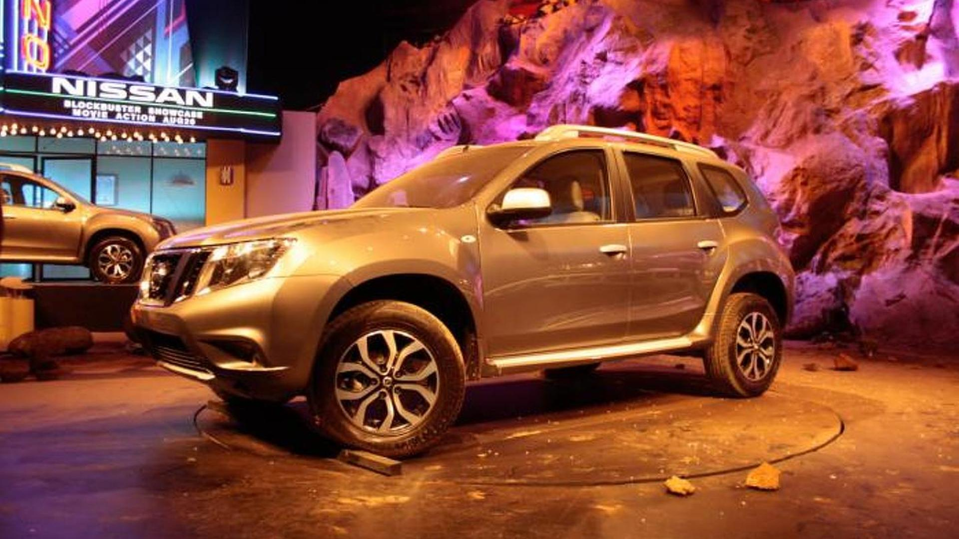 2013 Nissan Terrano officially revealed