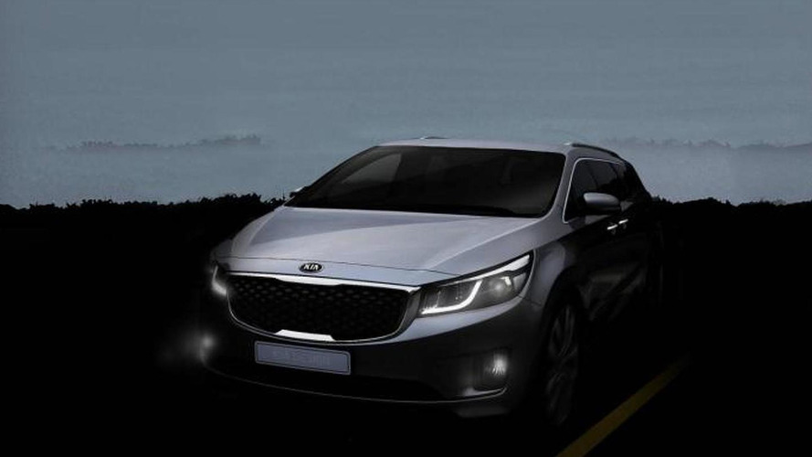 2015 Kia Sedona/Carnival teased, debuts in New York