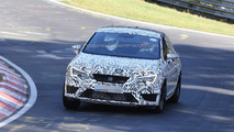 2014 Seat Leon Cupra prototype spied testing on Nurburgring