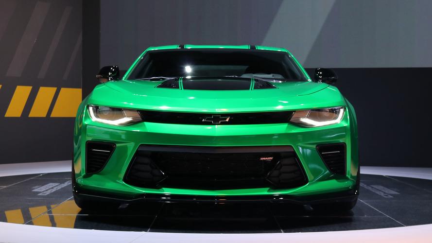 Chevy Camaro Track concept brings more performance to Geneva