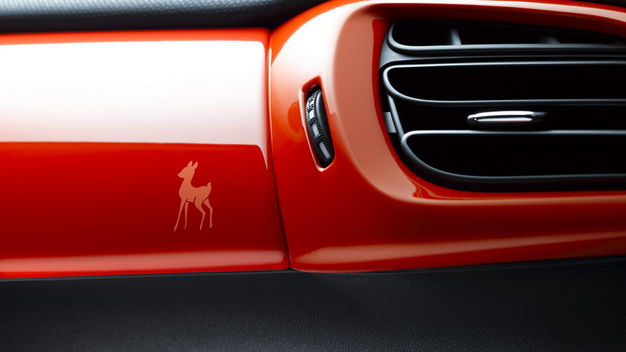 Fancy DS 3 Special Edition Has A Baby Deer Printed On Its Dash