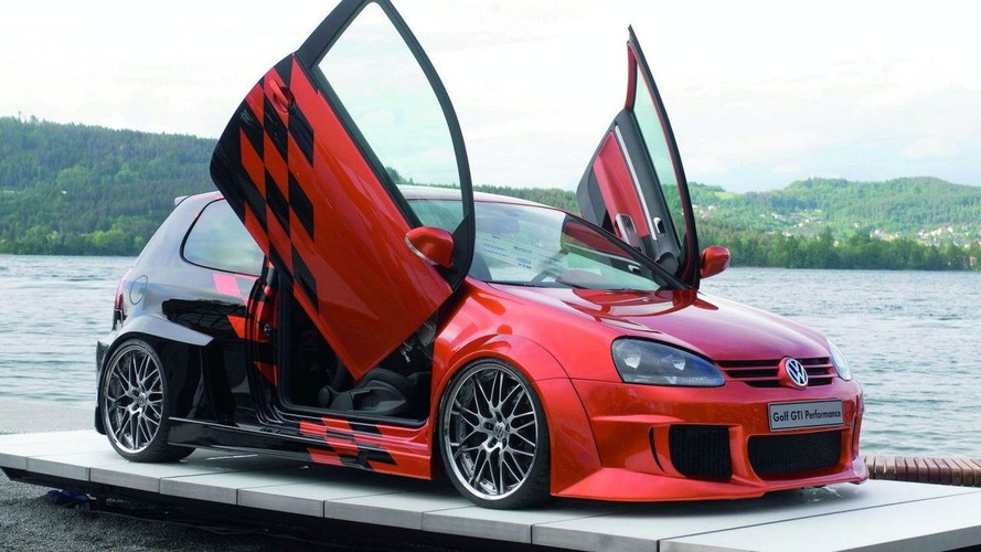 Mystery Volkswagen GTI Performance Concept Presented at 2008 GTI Meet