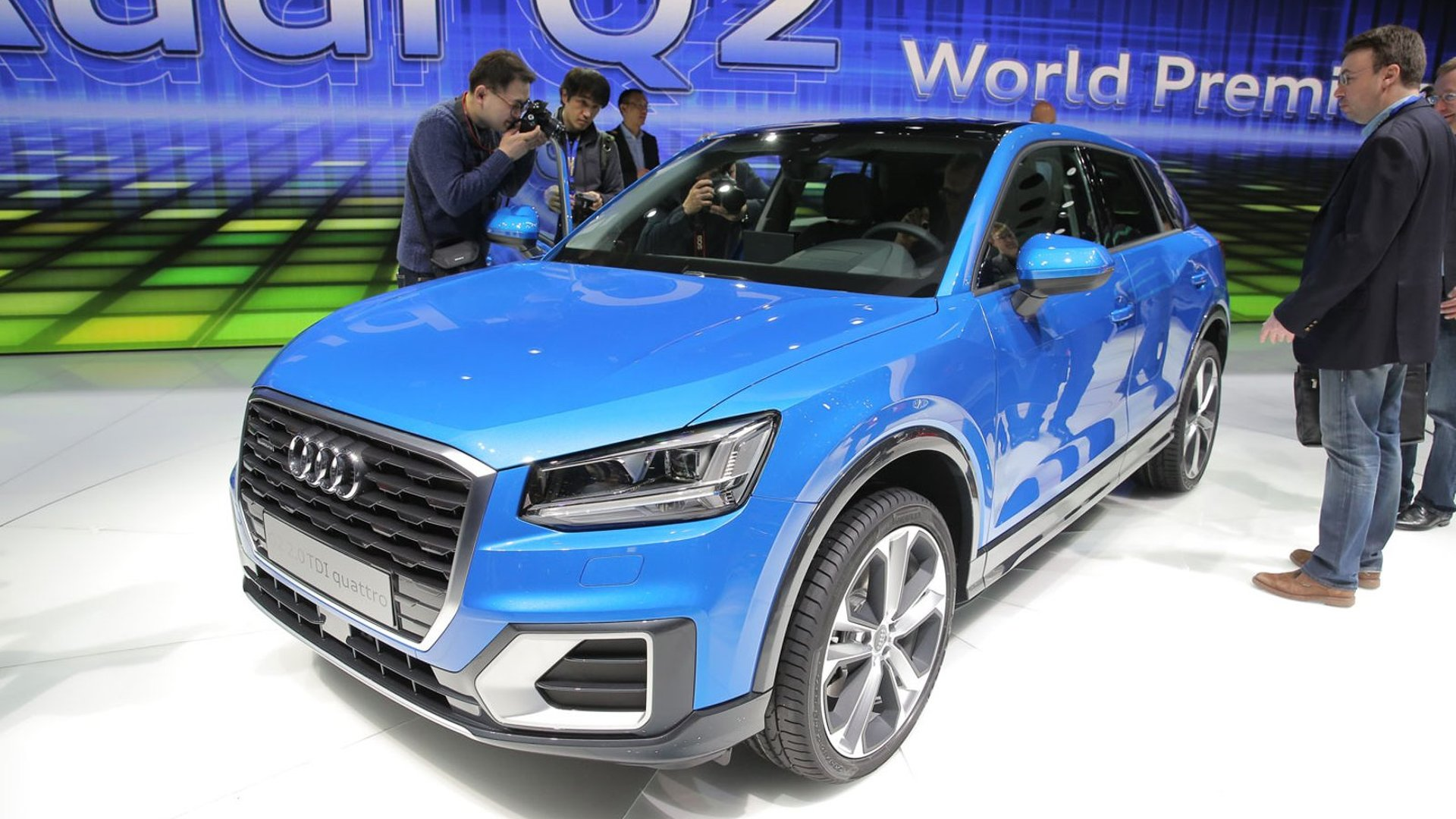 Audi Q2 baby crossover goes official, finally (128 pics)