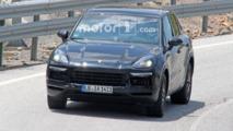 2018 Porsche Cayenne Spy Pics