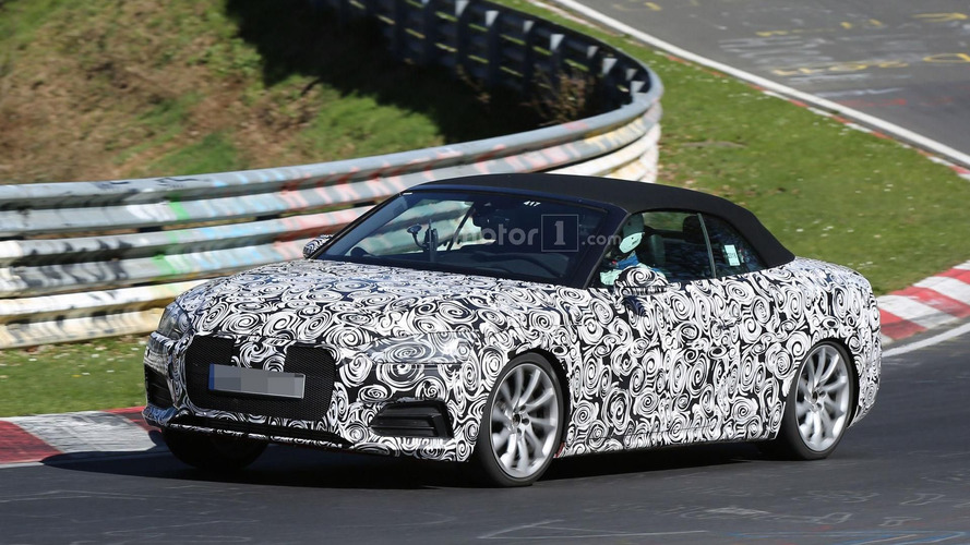 Audi S5 Cabrio tackles the Nürburgring with 354 hp