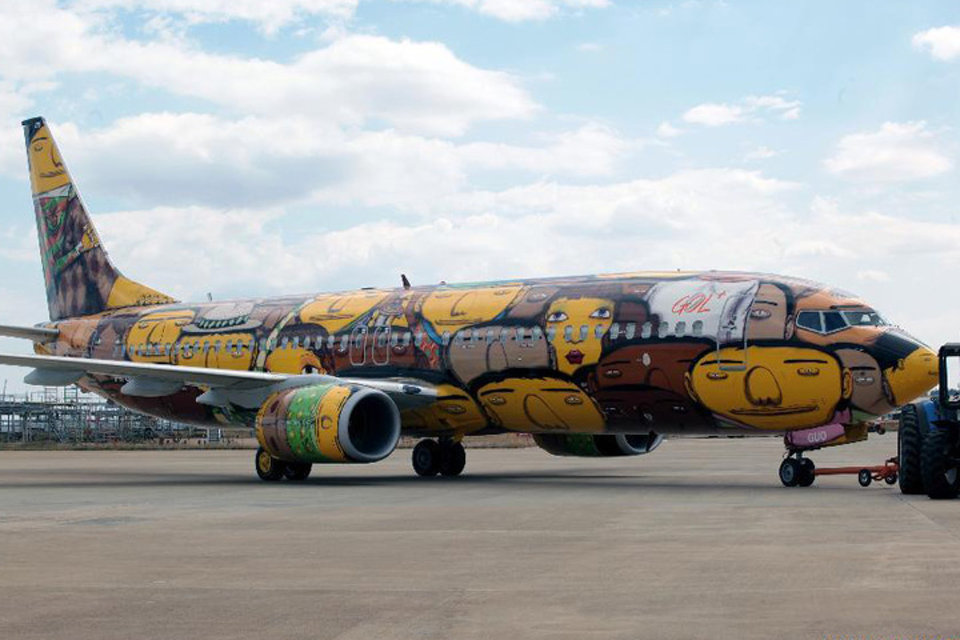 Brazil's World Cup Jet is Another Stratosphere of Cool
