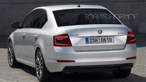 2017 Skoda Octavia facelift will allegedly have double headlight layout