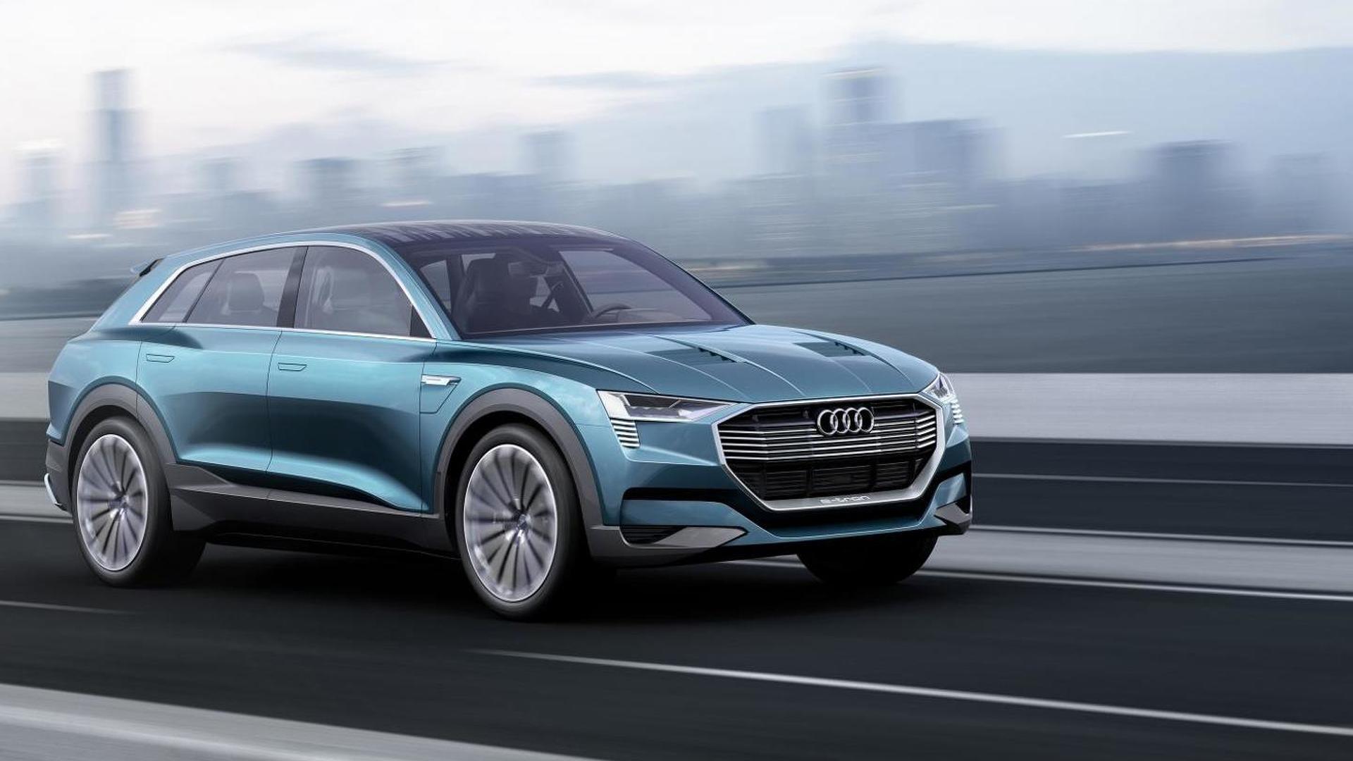 Audi h-tron quattro concept rumored for Detroit