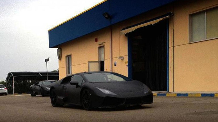 Lamborghini Gallardo replacement spied for the first time [additional photo added]
