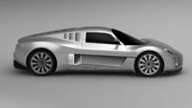 Gumpert Tornante production trademark design sketches leaked