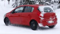 2013 Opel Corsa facelift spy photo 07.02.2013 / Automedia